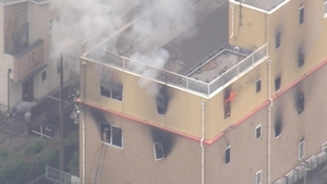 36 people died and 34 were injured in the Kyoto studio blaze last year