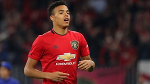 Mason Greenwood scored his first senior goal for United on Wednesday evening