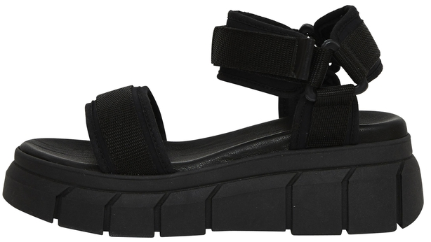 Office Marshall Chunky Multi Strap Sandals