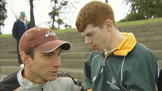 Jamie and Niall Costin, Santry Stadium (2004)