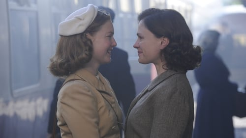 Holliday Grainge as Lydia and Anna Paquin as Dr Jean Markham in Tell It To The Bees, an over-egged melodrama.
