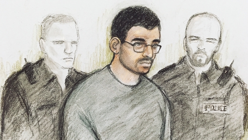 Hashem Abedi appeared before court in London this morning