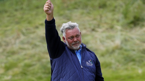 "Darren Clarke: ""We're back here in Portrush, and it was amazing."""