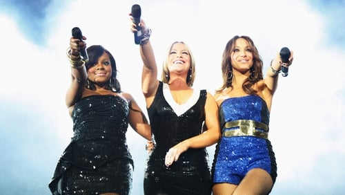 (L-R) Keisha Buchanan, Heidi Range and Amelle Berrabah of the Sugababes pictured in 2008