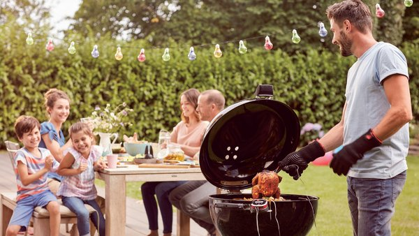 It's time to get grilling. Pic: Weber BBQ.