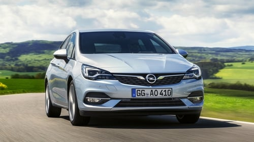 Opel's face-lifted Astra is due in Ireland for 2020 registrations.