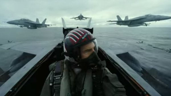 Tom Cruise returns to cinemas next year in Top Gun: Maverick