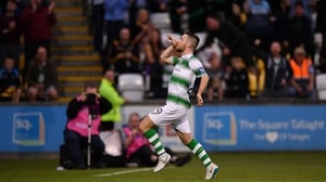 Jack Byrne opened the scoring at Tallaght Stadium