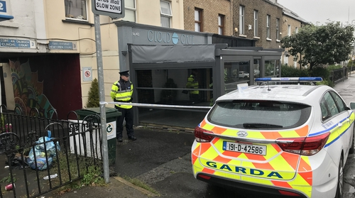 The incident took place at Clinch's Court when a row broke out in a house at around 4am yesterday