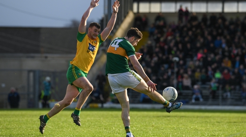 Donegal and Kerry last met in the 2018 Allianz Football League
