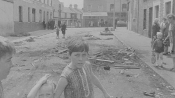 Aftermath of Belfast riots, Ardoyne (1969)