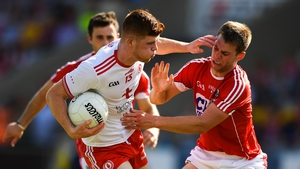 Cathal McShane will lead the line for Tyrone