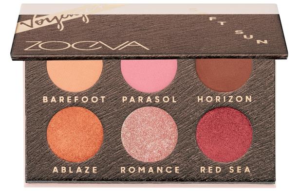 Zoeva Soft Sun Voyager Eye Palette