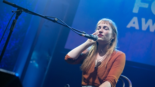 Radie Peat performs at the 2018 The RTÉ Radio 1 Folk Awards
