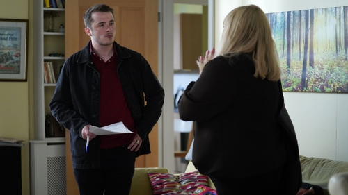 Sharon drops a bombshell on Ben on EastEnders