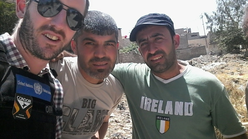 Níl aon cheist ach gur fhulaing na Yazidi san Iaráic agus an réigiún thart timpeall uirthi nuair a rinne ISIS cinedhíothú orthu i 2014 a deir ball de Chór Mearfhreagartha na hÉireann a chaith seal in Mosul.