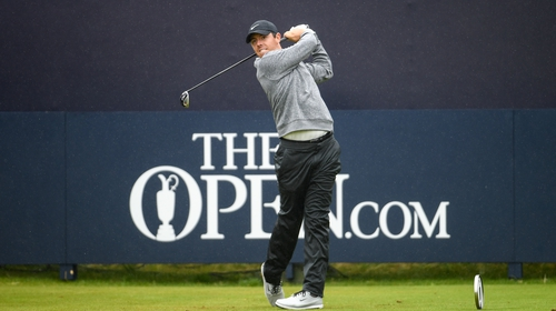There was heartbreak for Rory McIlroy