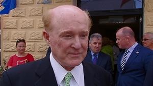 Billionaire businessman Edward Crawford, the new US Ambassador to Ireland