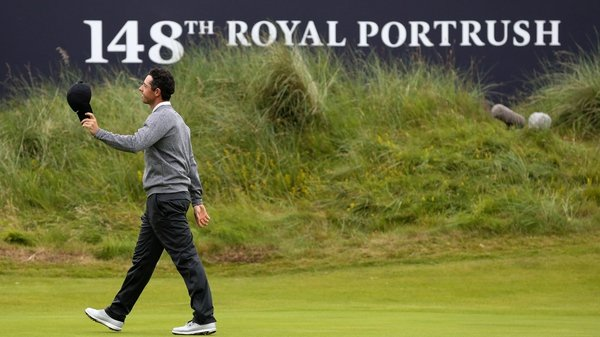 Rory McIlroy won't be around for the weekend's action