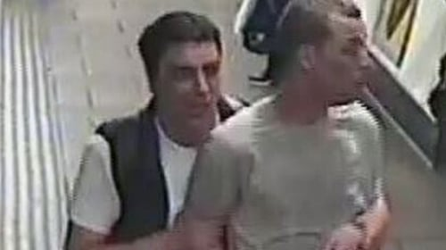 Police released CCTV footage of the suspects