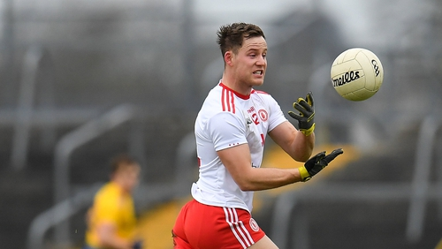 Kieran McGeary has been named to start for Tyrone's meeting with Cork