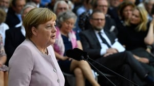 Angela Merkel underlined the importance of remembering the anniversary