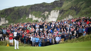 A £41 million putt: Shane Lowry at The Open at Portrush. Photo: Jan Kruger/R&A/R&A via Getty Images