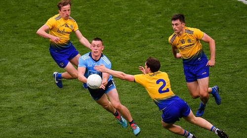 Con O'Callaghan was at his energetic best for Dublin