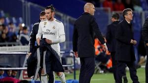 Bale looks like he's leaving Madrid