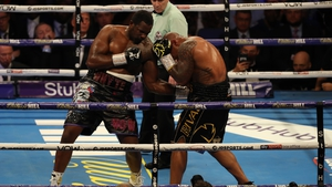 Dillian Whyte recovered from a knockdown to beat Oscar Rivas