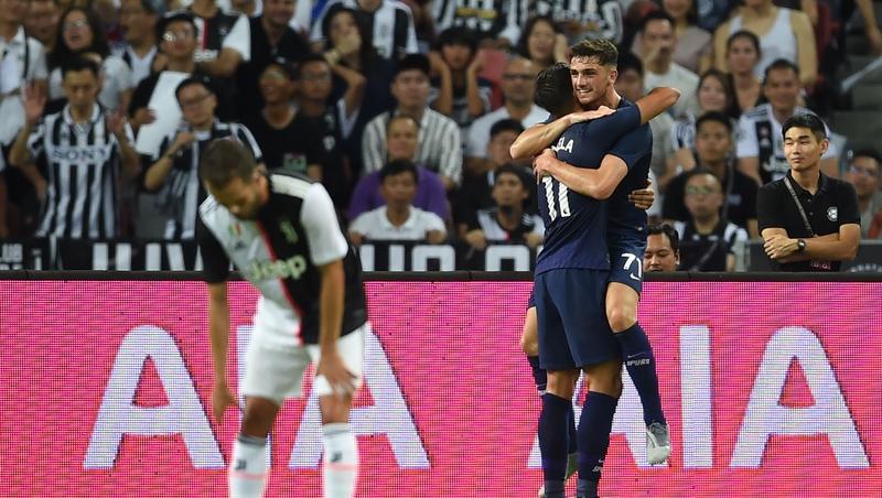 Parrott impresses in start against Juventus for Spurs
