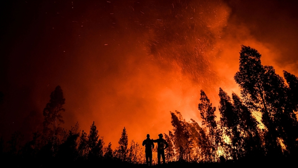 """The increased frequency and spread of wildfires is directly linked to climate change and exposure to wildfire smoke significantly impacts respiratory health"""
