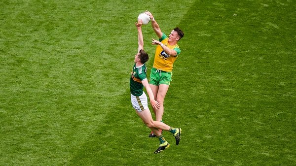 It's been a great battle so far between Donegal and Kerry