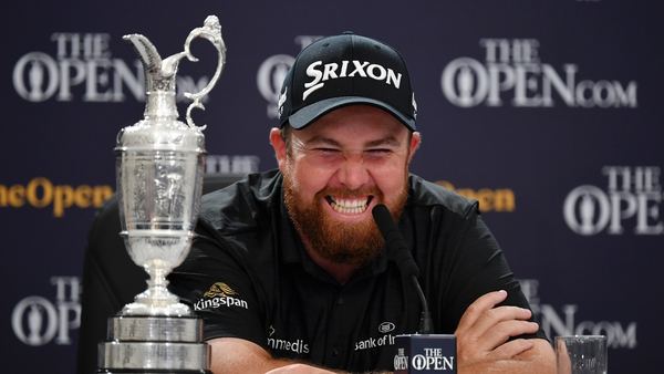 'I've watched the Open since I was a little kid and to be named champion golfer of the year is just incredible'