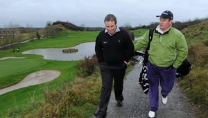 Shane Lowry pictured at Esker Hills in 2009