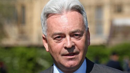 """Alan Duncan (pictured) had previously described Boris Johnson as a """"circus act"""""""