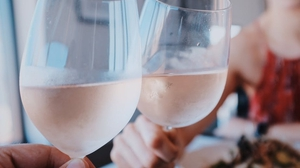 """In 2017 alone, rosé sales in the United States jumped 53% and the trend continues, partly driven by millennials."" Photo: Vincenzo Landino/Unsplash https://unsplash.com/photos/02rhSkQndPw"