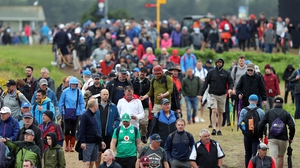 Huge crowds turned out in Portrush for the practice days and four tournament days