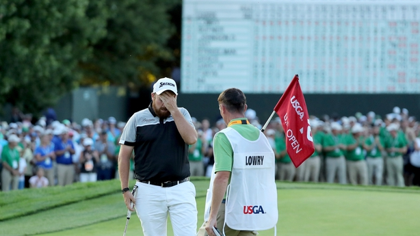 Lowry's British Open win caps off big golf year in majors