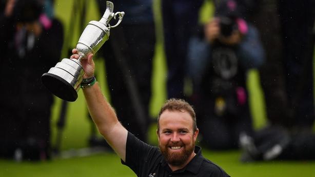 Lowry's British Open win caps off big year in majors
