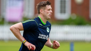 The fast-medium paceman will this week stride out at the home of cricket in just Ireland's third Test, and their maiden one on English shores