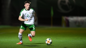 Andy Lyons is part of an Irish side that has progressed to the last four in the U-19 European Championships