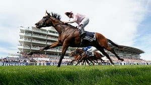 Anthony Van Dyck wins the Derby at Epsom