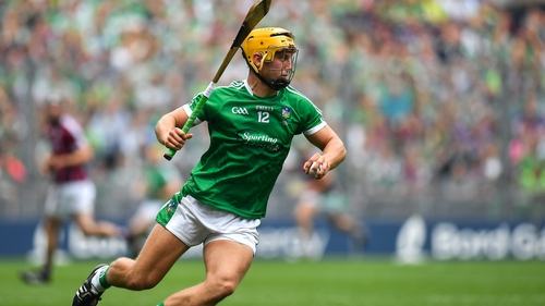 Tom Morrissey is a key figure in Limerick's industrious half-forward line