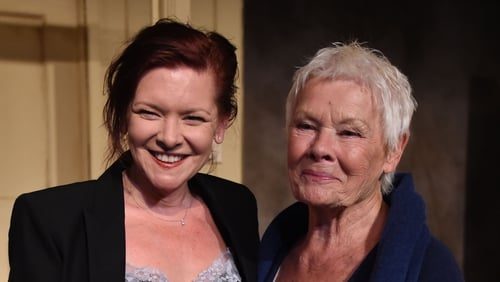 Finty Williams and Judi Dench