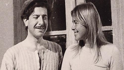 Leonard Cohen and Marianne Ihlen on Hydra (Picture Aviva Layton)