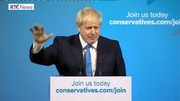 RTÉ News: Boris Johnson victory speech following election as Conservative Party leader