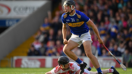 Kian O'Kelly after scoring Tipperary's second goal against Cork