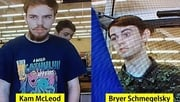 Police released images of Kam McLeod and Bryer Schmegelsky, warning the public to stay away