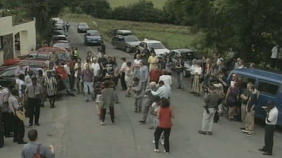Caribbean dancing at the crossroads, Feakle, Co. Clare (1999)